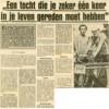 Thei Vossen en Gé Smits 5 juni 1985